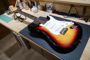 Fender ST リフィニッシュ