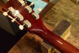 Gibson SG  classic ネック折れ修正 ピックアップ/ピックガード交換 フレット擦り合わせ