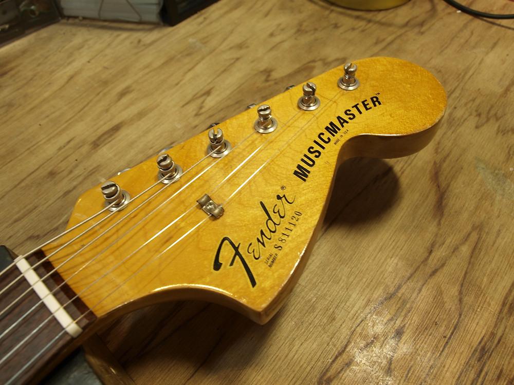 Fender MUSIC MASTER ネック