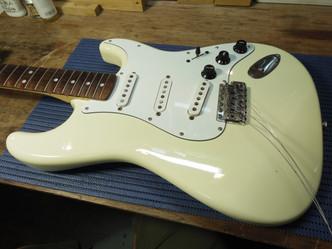 スイッチ交換&改造 Fender Stratocaster