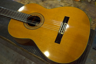 Hi-Fi取り付け Gibson CS Humming Bird Ryoji Matsuoka  クラシックギター