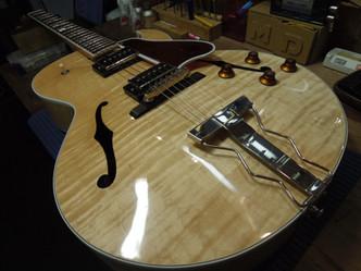 ピックアップ交換 Gibson ES-175 Reissue