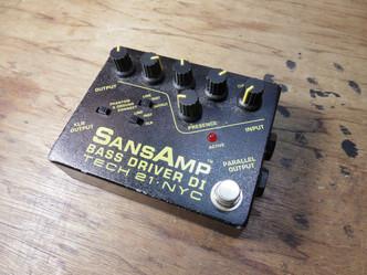 エフェクタースイッチ交換 SANSAMP