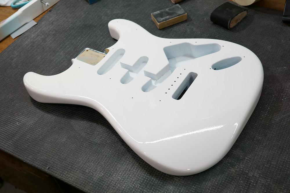 Fender ST 下地塗装