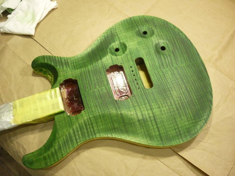 滋賀 イレブンギターズ リペア リフィニッシュ