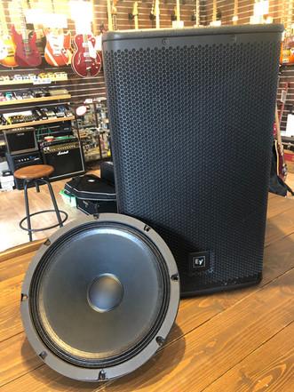 スピーカーユニット交換 Electro-Voice ELX115