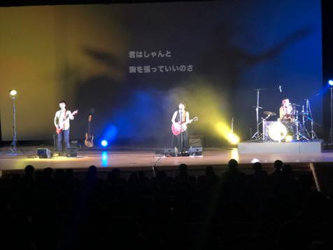 文化ホールでのバンド音響
