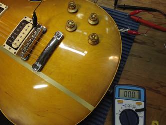 ノイズ対策 シールディング編 Gibson LesPaul