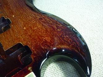 Gibson SG ラップ塗装 リフィニッシュ