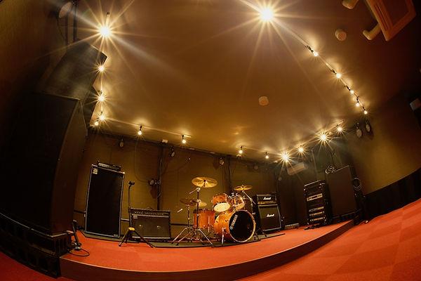 スタジオライブが可能なホール