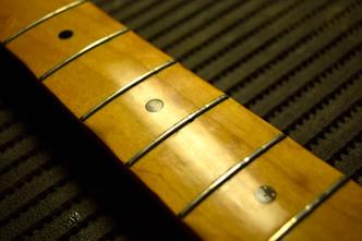 フレット交換 Fender Japan ST