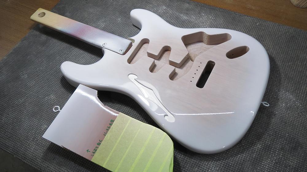 Warmoth ST カラー塗装