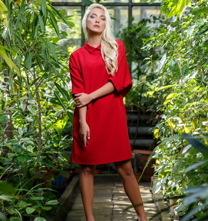 Красное платье ко Дню святого Валентина