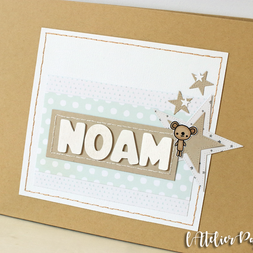 [Création Personnalisée] Album de Naissance « Noam »