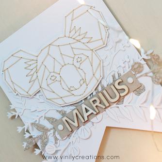 [Création Personnalisée] Fanion « Marius »