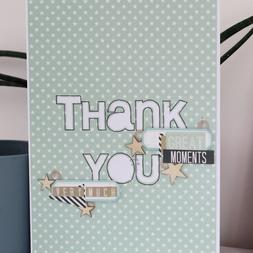 [Création Personnalisée] Carte « Thank you »