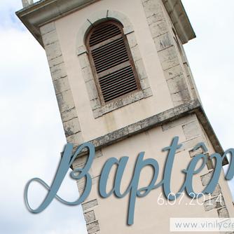 Baptême - 6 Juillet 2014