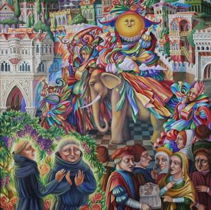 Невидаль. Видение брата Августина и брата Бонифация | Prodigy.The vision of brother Augustine and brother Boniface