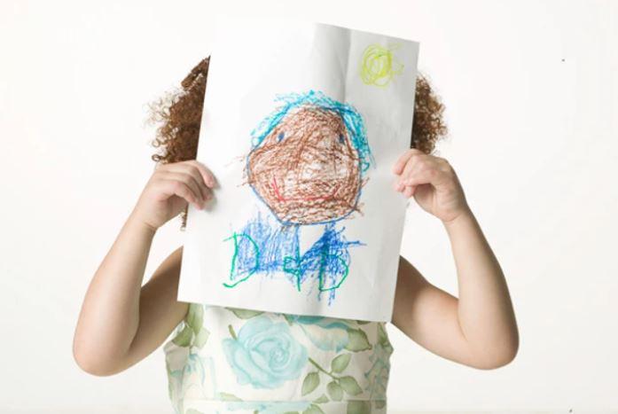 Love my children's artwork! (but...)