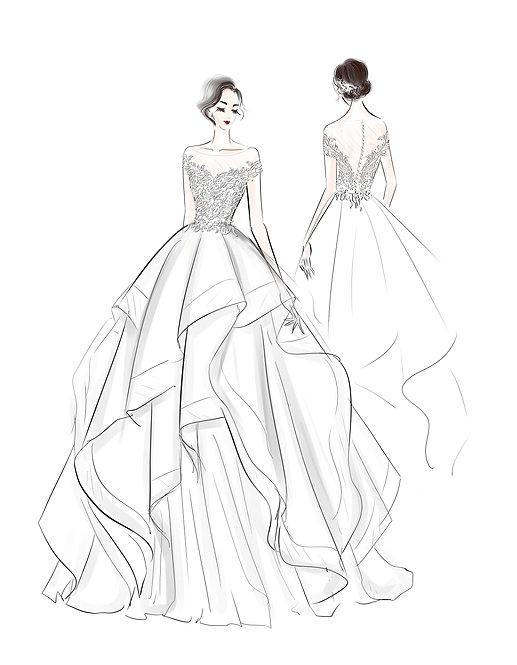 Digital Designer Sketch