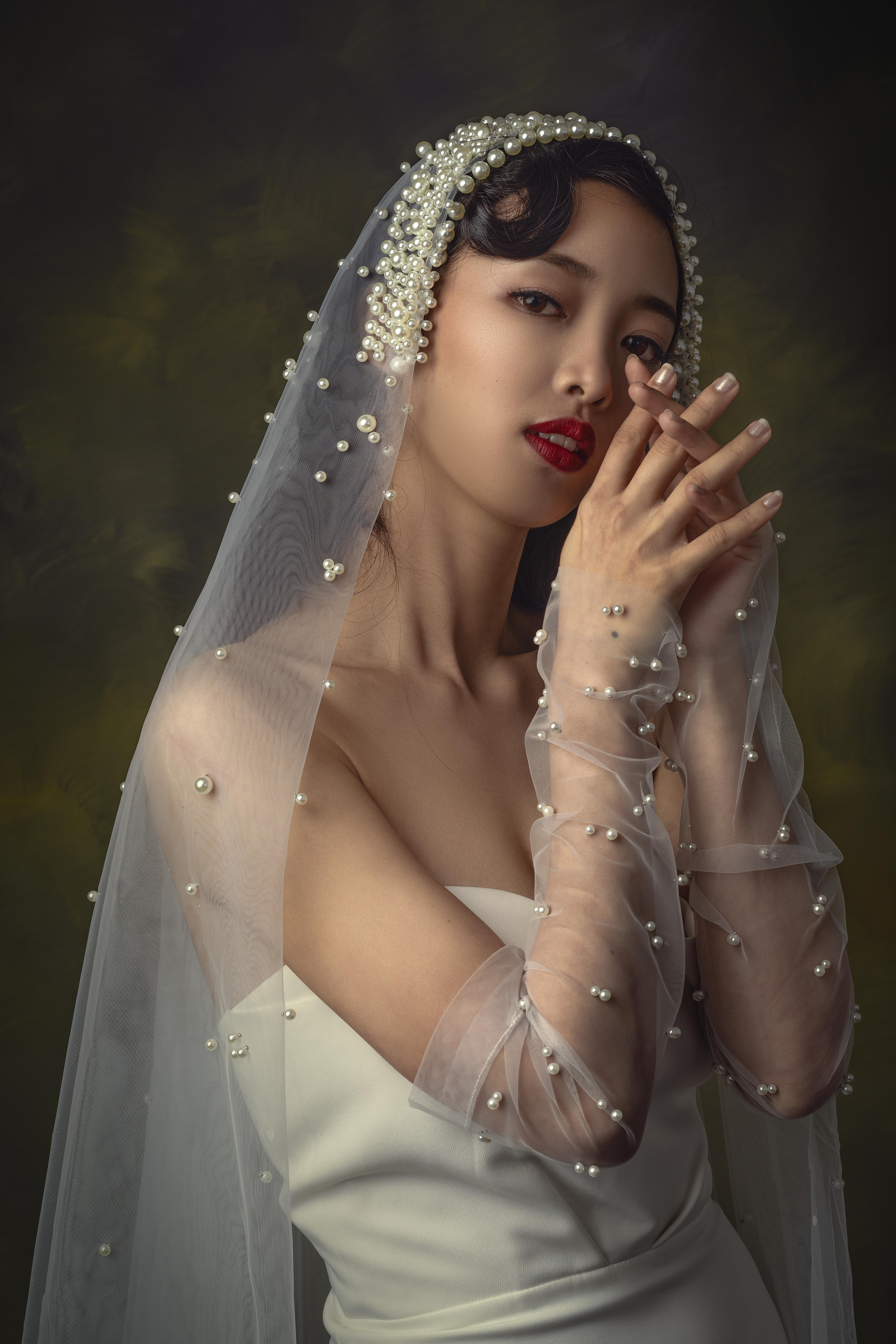 Crepe Satin Mermaid Dress