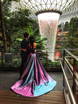 Aurora Gown at Jewel Changi Airport