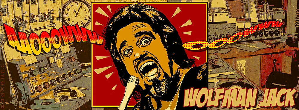 Wolfman Jack - howlin' in the sixties!