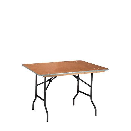 Banketttisch 76x120 cm