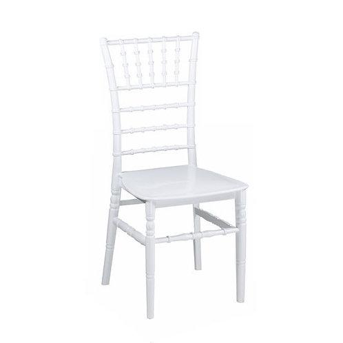"""Stuhl """"Chiavari"""" weiß inkl. Sitzkissen"""