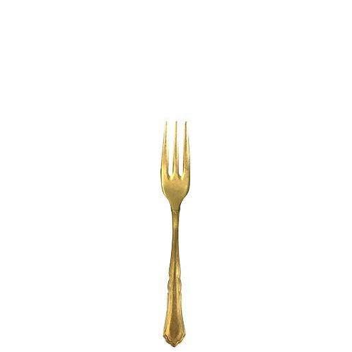 Dessert- / Kuchengabel gold