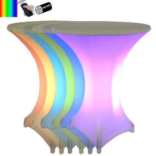 LED Leuchtstehtisch kabellos