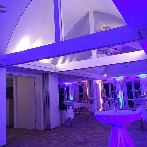10er Set LED Floorspot