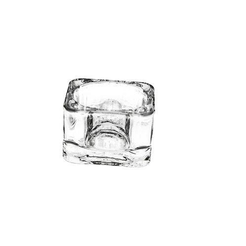 Teelichthalter, Glas