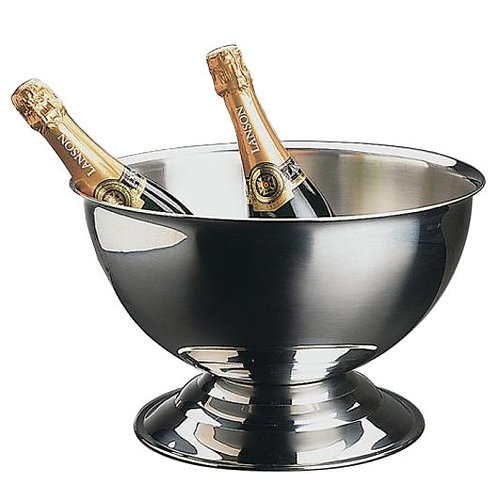 Champagnerbowl Edelstahl