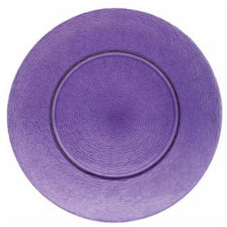 """Platzteller aus Glas """"Purple"""""""