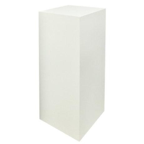 """Stehtisch """"Cube"""" Holz, weiß"""