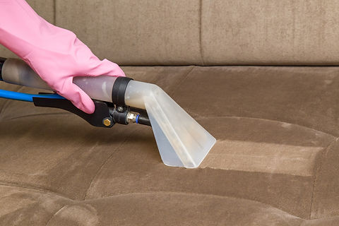 Sofa chemical cleaning with professional