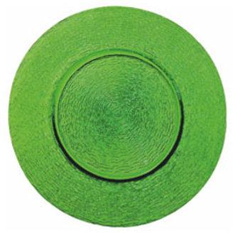 """Platzteller aus Glas """"Green"""""""