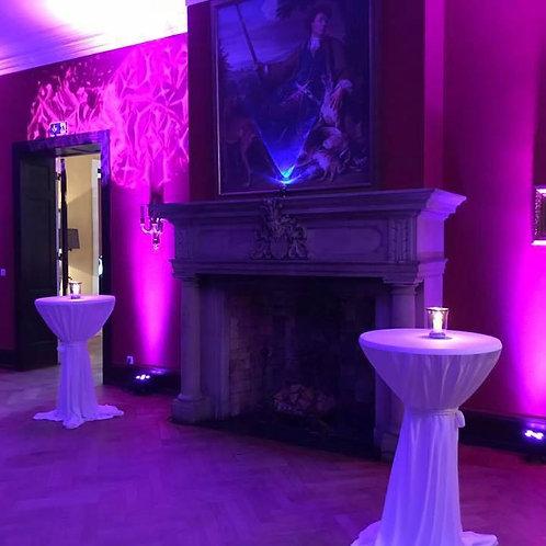 6er Set Indoor Akku LED Floorspot