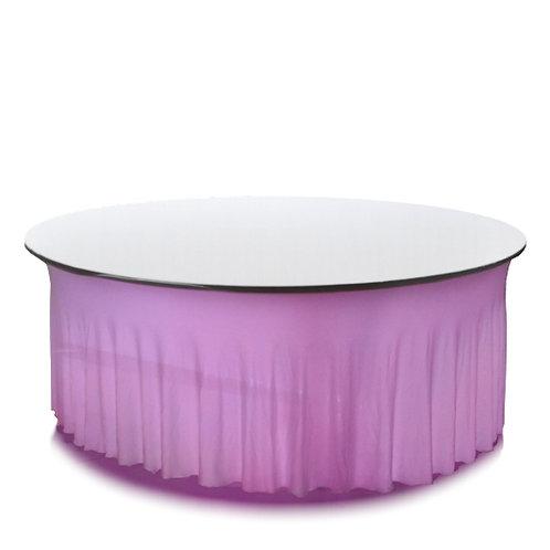 Leuchtsitztisch kabellos rund