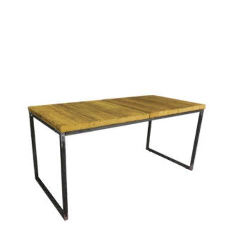 """Sitztisch """"Industry"""", Platte Vintage 80x160 cm"""