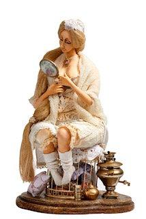 Lady with Samovar
