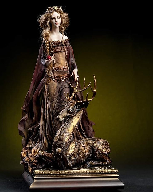 Princess and the Deer