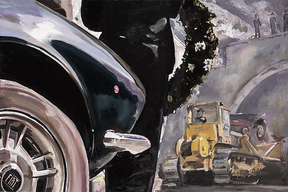 Martin Allen The-End-of-the-road-Origina