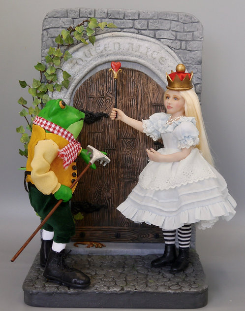 Alice and the Frog Gardener