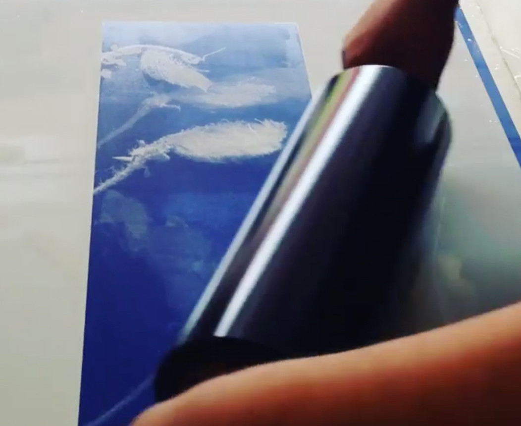 allugraph plate inking