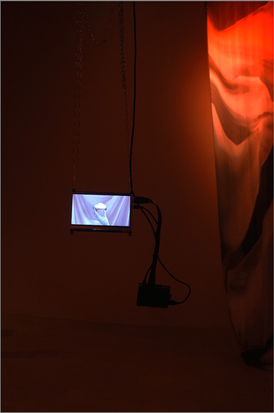 hanging raw screen