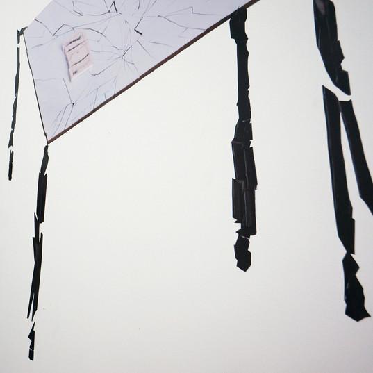 detail of wall vinyl, Pauline Emond