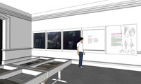 designer's impression of display room