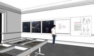 designer's impression of display room